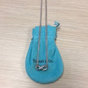 Tiffany & Co Infinity Double Chain necklace